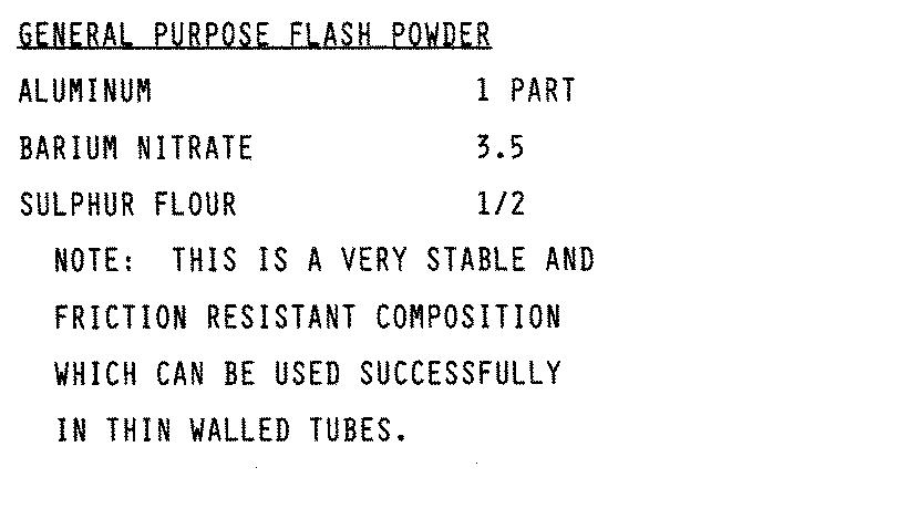 Bariumnitraat flash